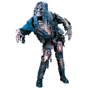 Zombie 3D Full Body Adult Costume