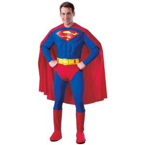 Superman Deluxe Halloween Costume