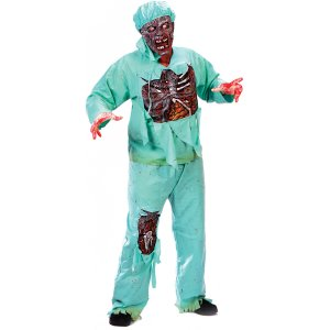 Zombie Doctor Full Body Adult Costume