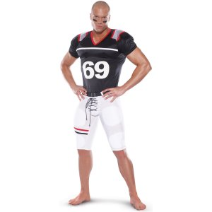 Tight End Football Player Costume