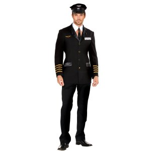 Mile High Club Pilot Costume