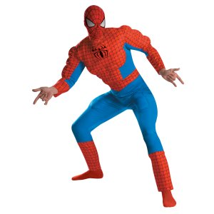 Spider-Man Deluxe Muscle Costume