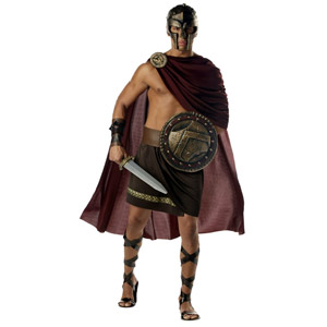 Sexy Spartan Warrior Costume