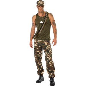 Sexy Camo Man Gay Halloween Costume