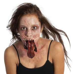 The Walking Dead – Split Jaw Latex Prosthetic