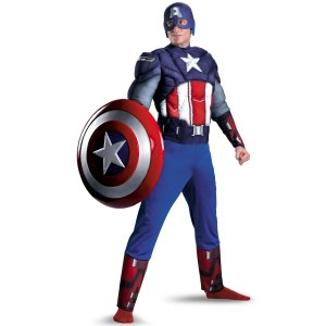 Captain America Muscle Costume (The Avengers)