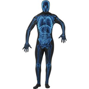 X-Ray Second Skin Suit Adult Costume