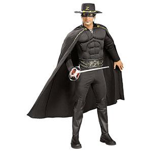 Sexy Muscle Zorro Costume