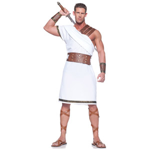 Sexy Greek Warrior Costume