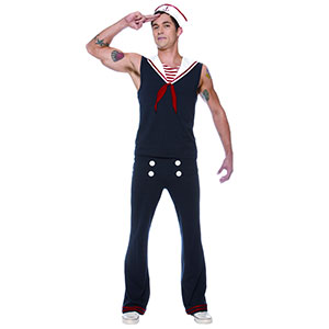 Men's Sexy Sailor Halloween Costume