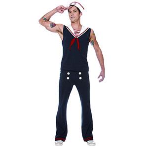 Men's Sexy Sailor Halloween Costume