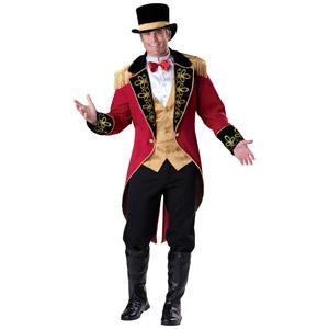 Men's Ringmaster Halloween Costume